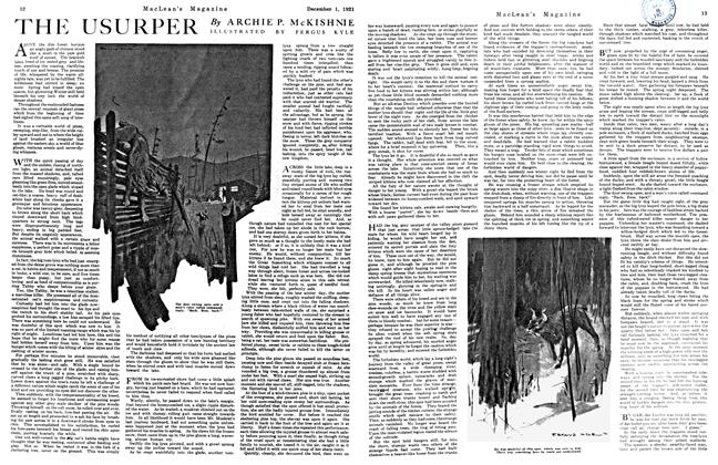Article Preview: THE USURPER, December 1921 | Maclean's