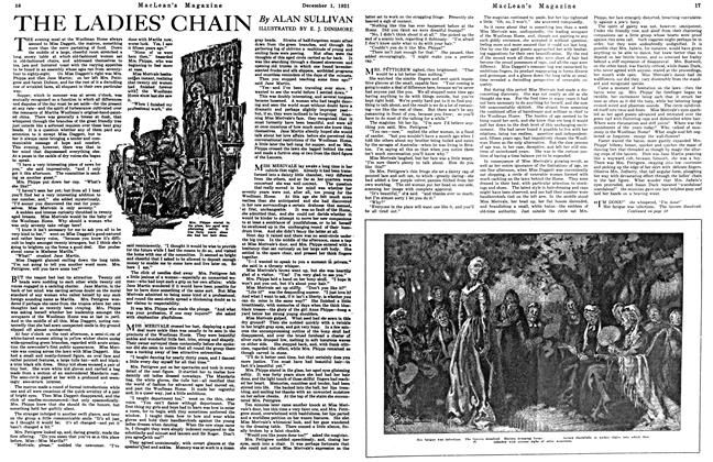 Article Preview: THE LADIES' CHAIN, December 1921 | Maclean's