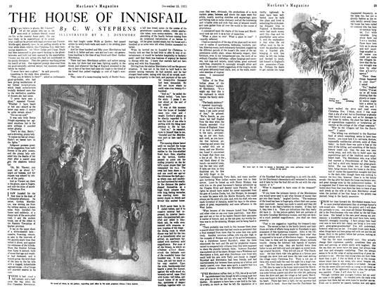 Article Preview: THE HOUSE OF INNISFAIL, December 1921 | Maclean's