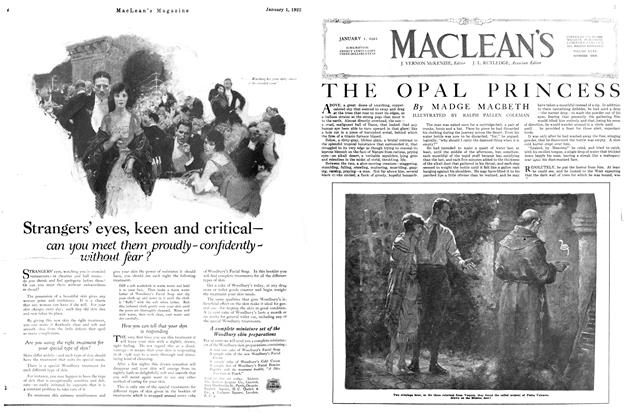 Article Preview: THE OPAL PRINCESS, January 1922 | Maclean's