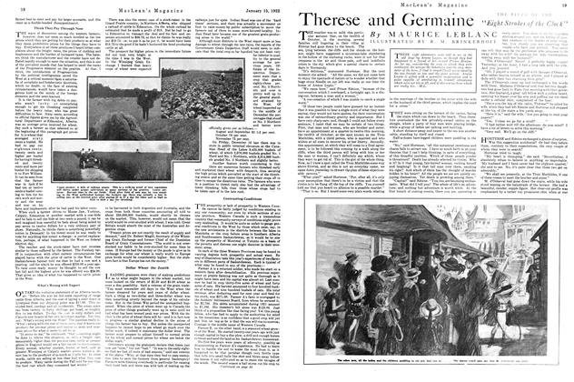 Article Preview: Therese and Germaine, January 1922 | Maclean's