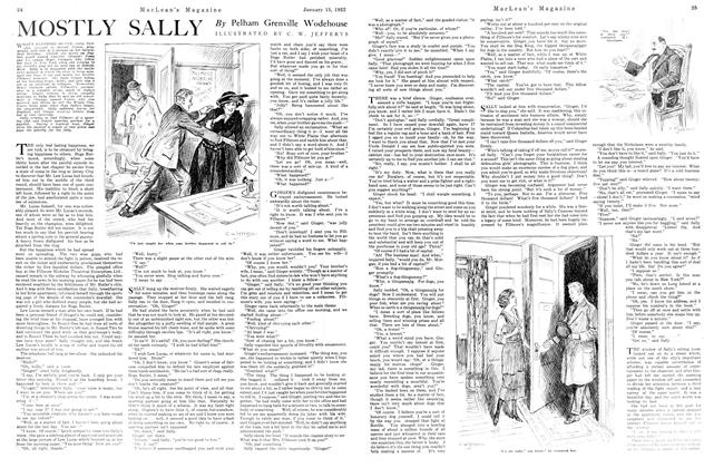 Article Preview: MOSTLY SALLY, January 1922 | Maclean's