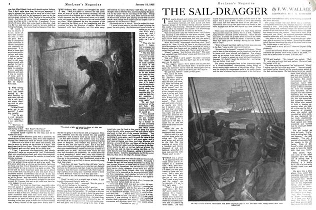 Article Preview: THE SAIL-DRAGGER, January 1922 | Maclean's