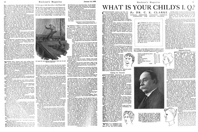 Article Preview: WHAT IS YOUR CHILD'S I. Q.?, January 1922 | Maclean's