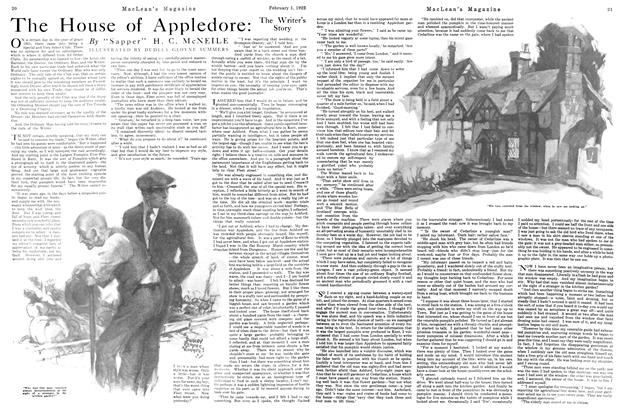 Article Preview: The House of Appledore, FEBRUARY 1ST 1922 1922 | Maclean's