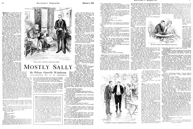 Article Preview: MOSTLY SALLY, FEBRUARY 1ST 1922 1922 | Maclean's