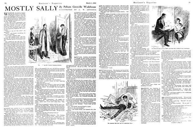 Article Preview: MOSTLY SALLY, MARCH 1ST 1922 1922 | Maclean's