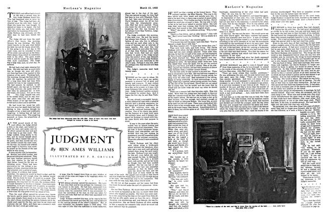 Article Preview: JUDGMENT, MARCH 15TH 1922 1922 | Maclean's