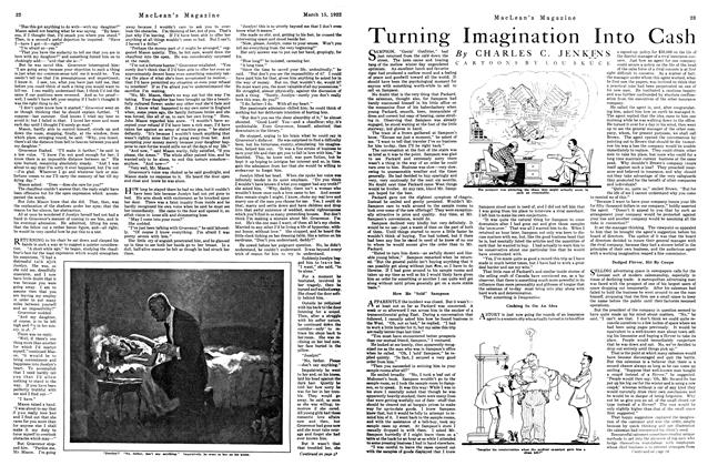 Article Preview: Turning Imagination Into Cash, MARCH 15TH 1922 1922 | Maclean's