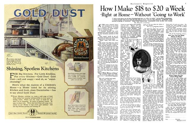 """Article Preview: How I Make $18 to $20 a Week -Right at Home """""""" Without Going to Work, MARCH 15TH 1922 1922 