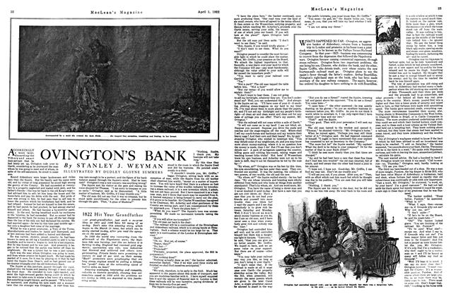 Article Preview: OVINGTON'S BANK, April 1922 | Maclean's