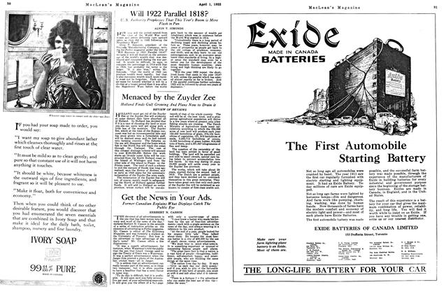 Article Preview: Get the News in Your Ads., April 1922 | Maclean's