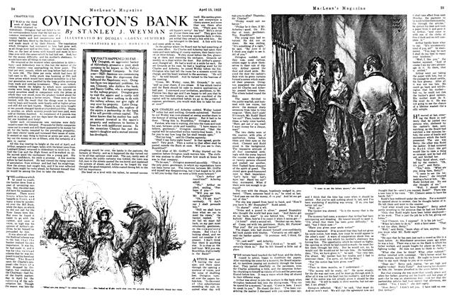 Article Preview: OVINGTON'S BANK, APRIL 15TH 1922 1922 | Maclean's