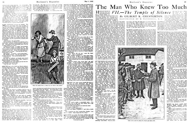 Article Preview: The Man Who Knew Too Much, May 1922 | Maclean's