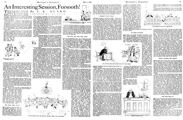 Article Preview: An Interesting Session, Forsooth!, May 1922 | Maclean's
