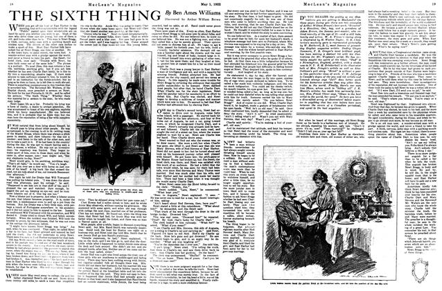 Article Preview: THE SIXTH THING, May 1922 | Maclean's