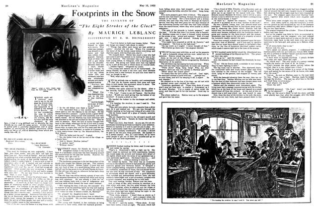 Article Preview: Footprints in the Snow, MAY 15,1922 1922 | Maclean's