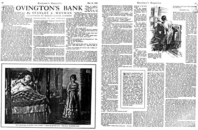 Article Preview: OVINGTON'S BANK, MAY 15,1922 1922 | Maclean's
