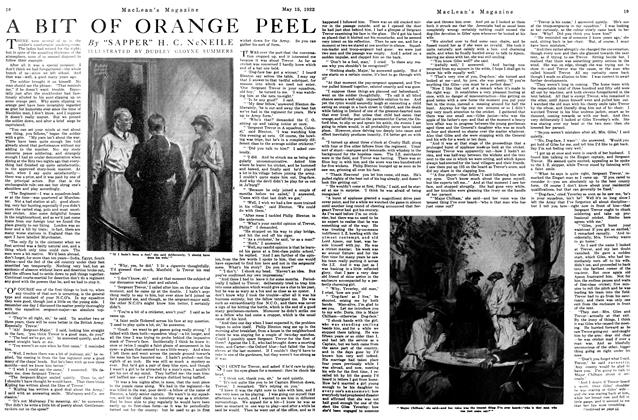 Article Preview: A BIT OF ORANGE PEEL, MAY 15,1922 1922 | Maclean's