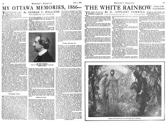 Article Preview: THE WHITE RAINBOW, June 1922 | Maclean's