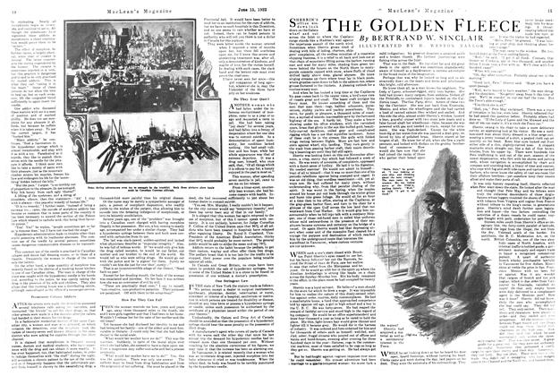 Article Preview: THE GOLDEN FLEECE, June 1922 | Maclean's
