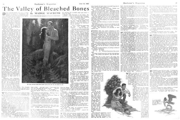 Article Preview: The Valley of Bleached Bones, June 1922 | Maclean's