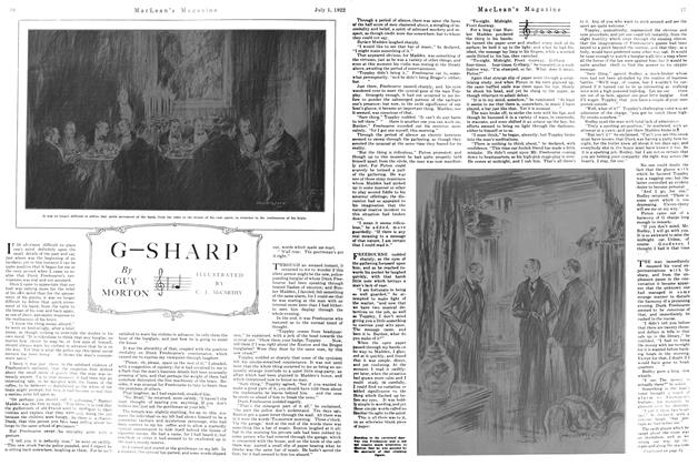 Article Preview: G—SHARP, July 1st, 1922 1922 | Maclean's