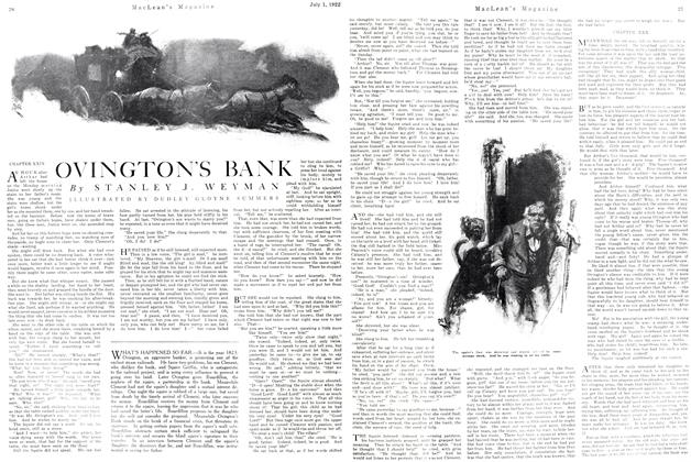 Article Preview: OVINGTON'S BANK, July 1st, 1922 1922 | Maclean's