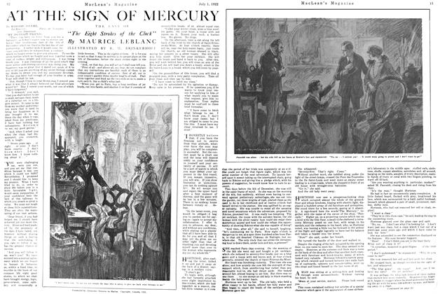 Article Preview: AT THE SIGN OF MERCURY, July 1st, 1922 1922 | Maclean's