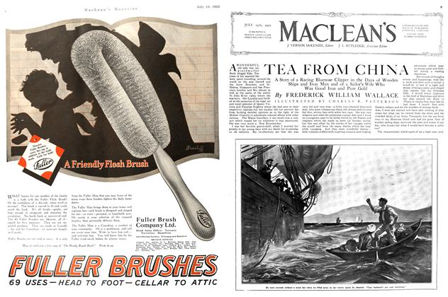 Article Preview: TEA FROM CHINA, JULY 15TH 1922 1922 | Maclean's