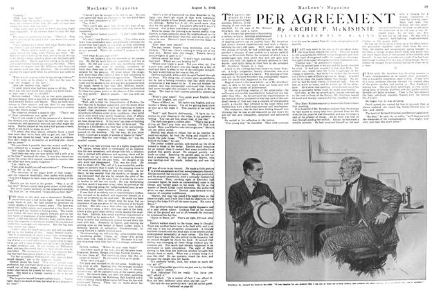 Article Preview: PER AGREEMENT, August 1922 | Maclean's