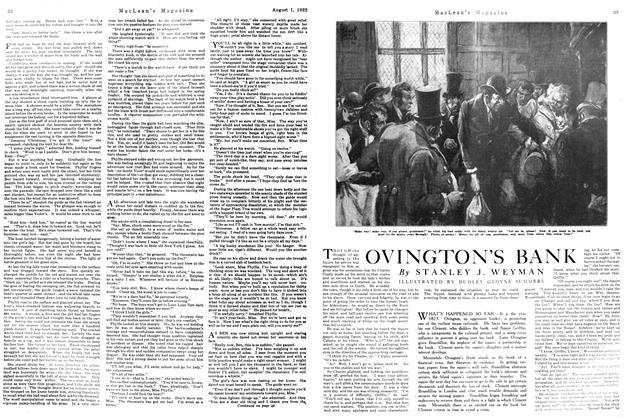 Article Preview: OVINGTON'S BANK, August 1922 | Maclean's