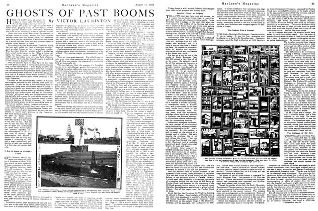 Article Preview: GHOSTS OF PAST BOOMS, August 1922 | Maclean's
