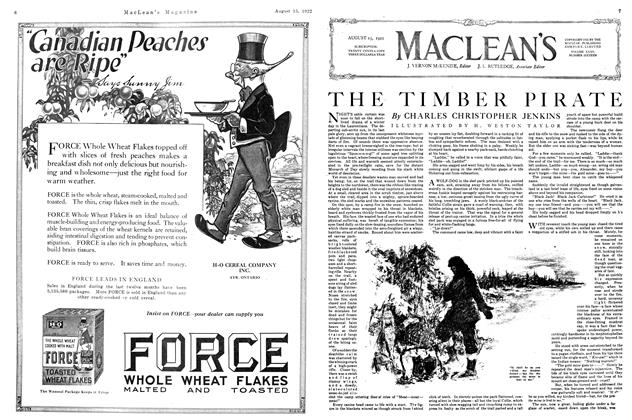 Article Preview: THE TIMBER PIRATE, August 1922 | Maclean's