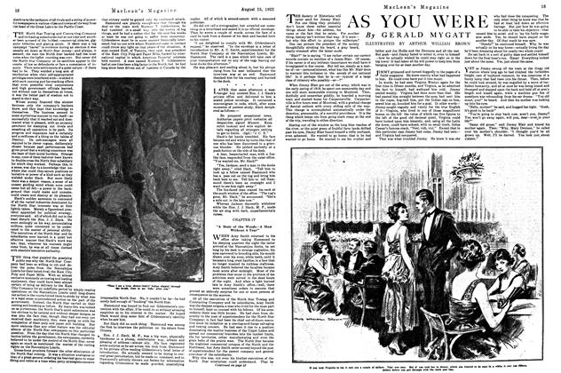 Article Preview: AS YOU WERE, August 1922 | Maclean's