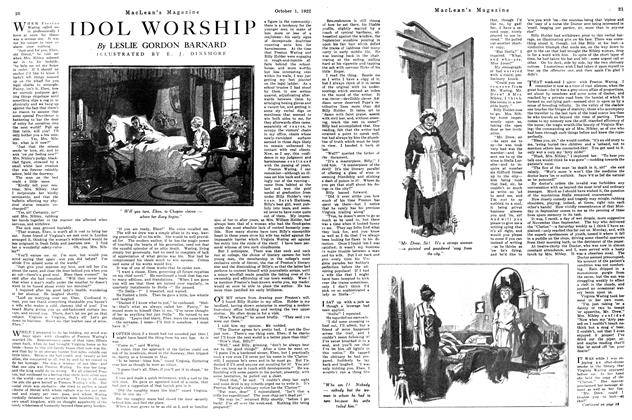 Article Preview: IDOL WORSHIP, OCTOBER 1ST 1922 1922 | Maclean's