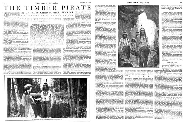 Article Preview: THE TIMBER PIRATE, OCTOBER 1ST 1922 1922 | Maclean's
