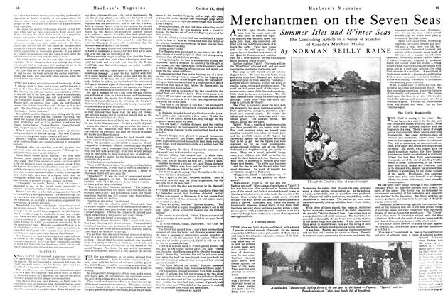 Article Preview: Merchantmen on the Seven Seas, October 1922 | Maclean's