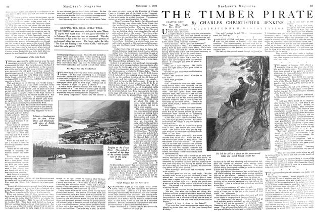 Article Preview: THE TIMBER PIRATE, November 1st, 1922 1922 | Maclean's