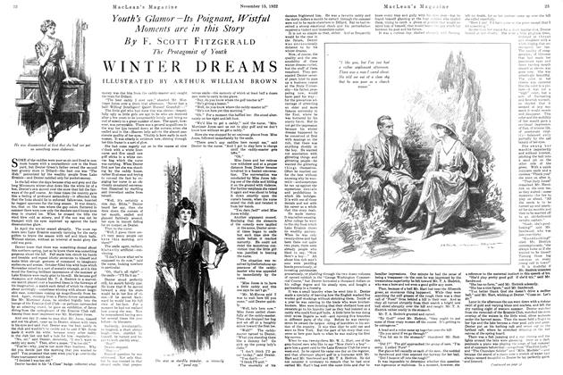 Article Preview: WINTER DREAMS, November 1922 | Maclean's