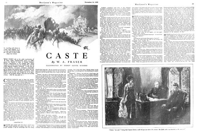 Article Preview: CASTE, November 1922 | Maclean's