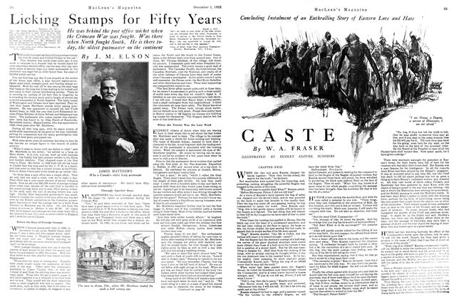 Article Preview: CASTE, December 1st 1922 1922 | Maclean's