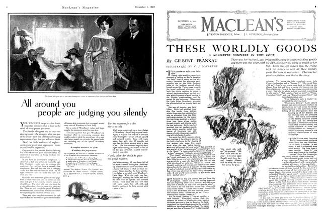 Article Preview: THESE WORLDLY GOODS, December 1st 1922 1922 | Maclean's