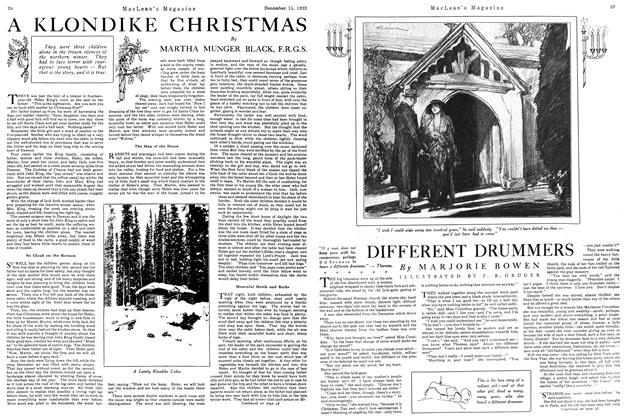 Article Preview: DIFFERENT DRUMMERS, December 15th 1922 1922 | Maclean's