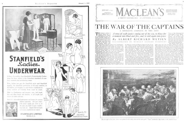 Article Preview: THE WAR OF THE CAPTAINS, January 1923 | Maclean's