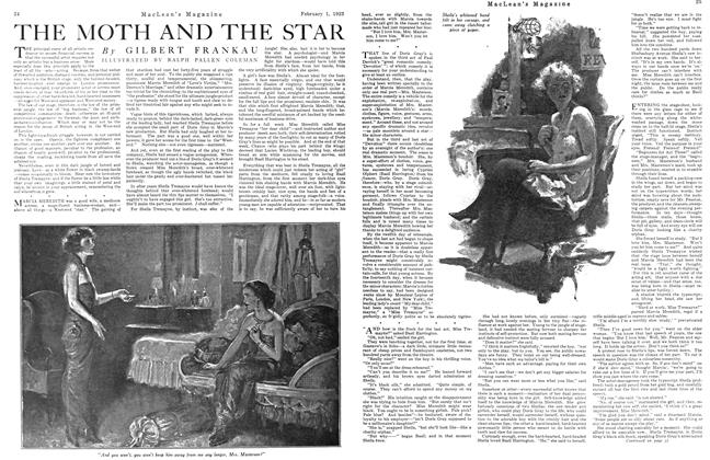 Article Preview: THE MOTH AND THE STAR, February 1923 | Maclean's