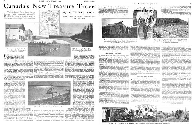 Article Preview: Canada's New Treasure Trove, February 1923 | Maclean's
