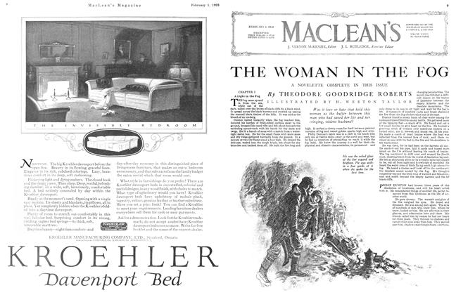 Article Preview: THE WOMAN IN THE FOG, February 1923 | Maclean's