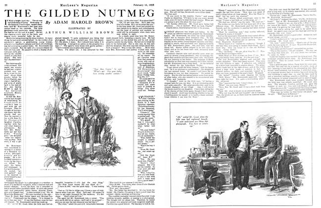 Article Preview: THE GILDED NUTMEG, February 1923 | Maclean's