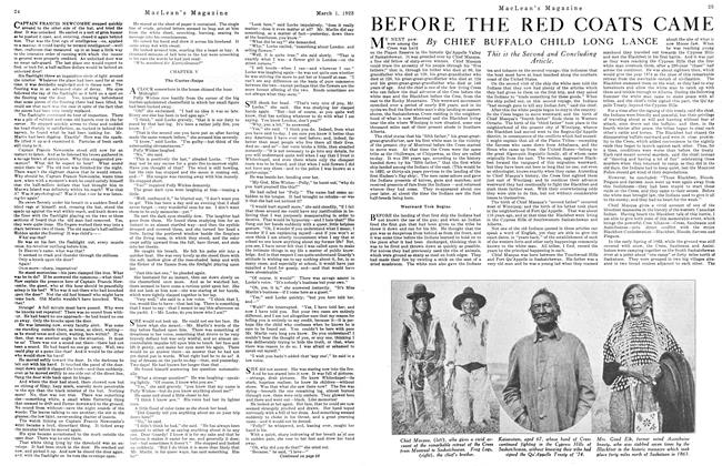 Article Preview: BEFORE THE RED COATS CAME, March 1923 | Maclean's